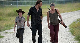 The Walking Dead season 3 episode 9, 'The Suicide King'.