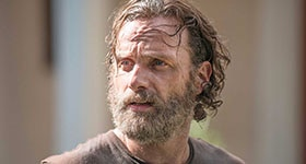 The Walking Dead season 5 episode 9, 'What Happened and What's Going On'.
