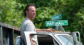 The Walking Dead season 6 episode 1, 'First Time Again'.