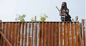 The Walking Dead season 6 episode 10, 'The Next World'.