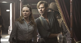 Westworld season 1 episode 7, 'Trompe L'oeil'.